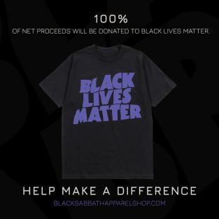 Black Sabbath підготували до продажу футболку Black Lives Matter