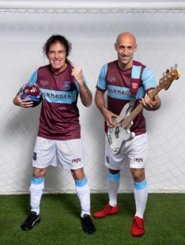Iron Maiden об'єднає сили з West Ham United, щоб запустити новий футбольний комплект.
