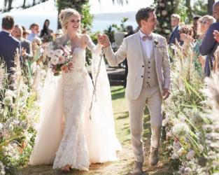 Лідер гурту Muse одружився на американській моделі