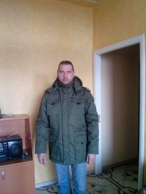 Куртка для солдата (фронтально)